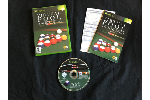VIRTUAL POOL TOURNAMENT EDITION XBOX BRA SKICK (421043041 ...