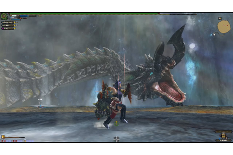Monster hunter frontier G - G Raviente (tonfa) - YouTube