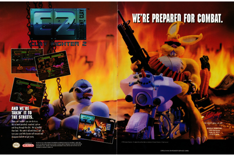 "Video Game Print Ads — ""ClayFighter 2: Judgement Clay ..."