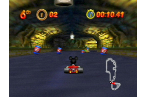 Mickey's Speedway USA (N64 / Nintendo 64) Screenshots