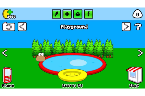 Pou Game - Pool (FULL HD) - YouTube