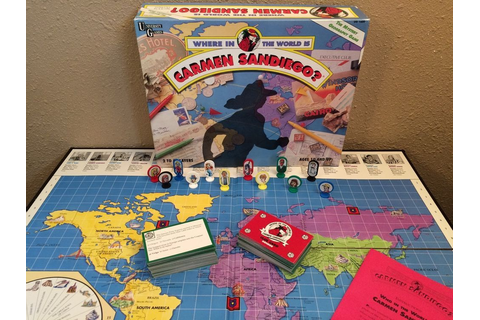 Where in the World is CARMEN SANDIEGO? VTG 1992 Geography ...