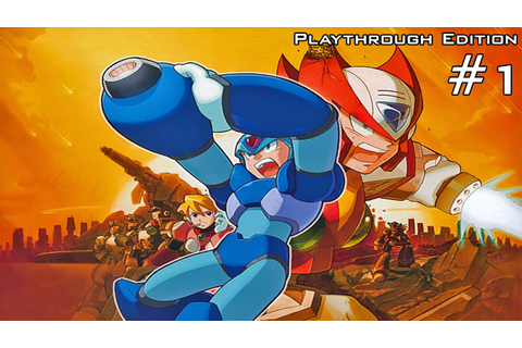 Mega Man X5 [100% Run] - Part 1: Maverick Hunter Training ...