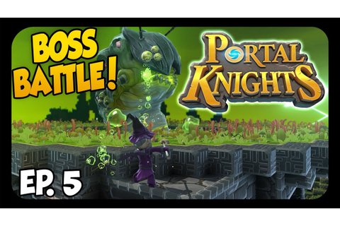 Portal Knights WORM BOSS BATTLE & New Armor! This Game Is ...