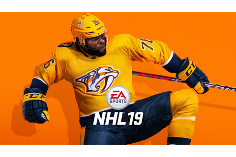 P.K. Subban Brings His Swagger To NHL 19 Cover - Game Informer