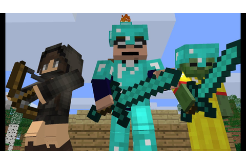 The Hunger Games - Minecraft Animation - YouTube