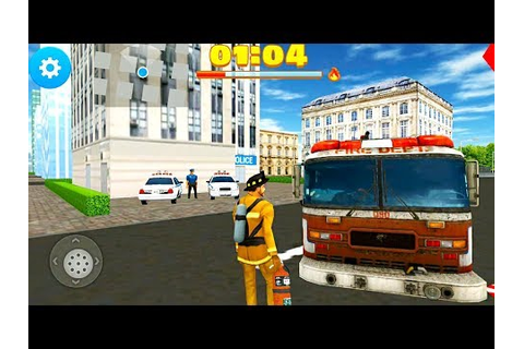 Fire Truck Game 2017 - 911 Rescue Firefighter - Android ...