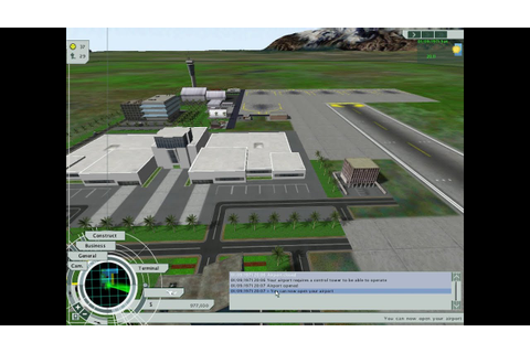 Airport Tycoon 3 PC Gameplay HD - YouTube