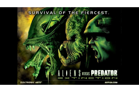 Aliens Vs Predator Extinction Alien Campaign 1 - YouTube
