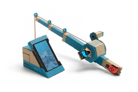 Toy-Con Fishing Rod - Nintendo Labo Wiki Guide - IGN