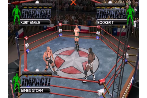TNA Impact - Cross the Line (USA) ISO