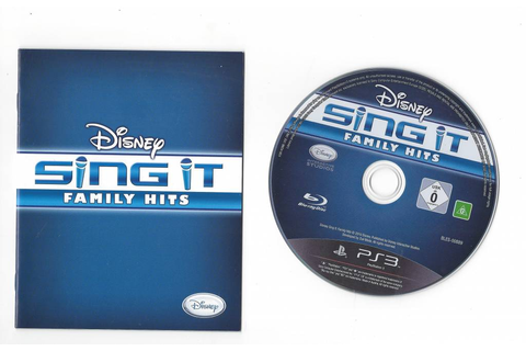Disney Sing It Family Hits for Playstation 3 PS3 - Passion ...