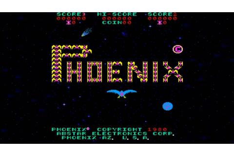 Phoenix arcade game - YouTube
