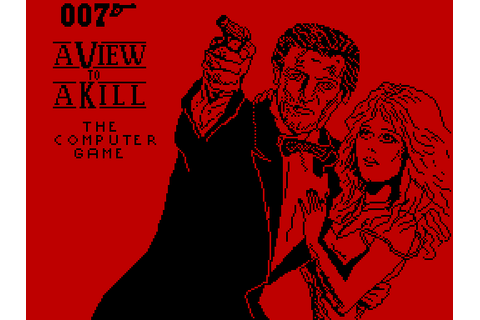 A View to a Kill: The Computer Game (1985) by Domark ZX ...