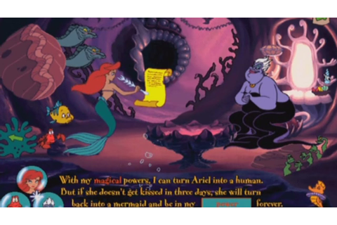 Ariel's Story Studio - The Little Mermaid Animated Story Book (3 ...