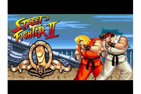 ITA playing Street Fighter II Champion Edition (Rainbow ...