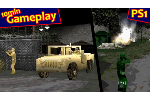 Army Men: World War Team Assault ... (PS1) - YouTube