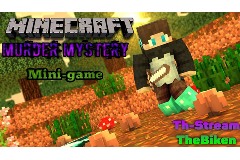 Я убил Убийцу//Minecraft Mine-game//Murder master//TH ...