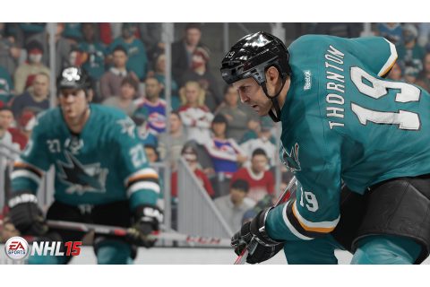 Face it, NHL 15 is one of the most gorgeous next-gen games ...