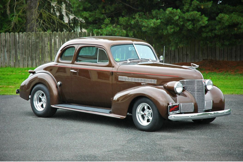 1939 Chevrolet Master Deluxe Coupe Hotrod Hot Rod ...