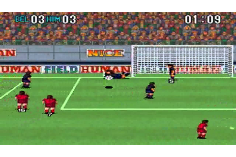 Super Formation Soccer 2 : Belgium VS Human - YouTube