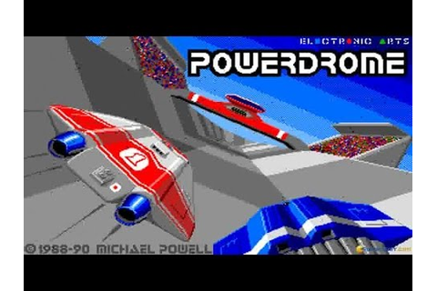 Powerdrome gameplay (PC Game, 1988) - YouTube