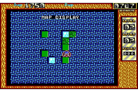 Download Bombuzal puzzle for DOS (1989) - Abandonware DOS
