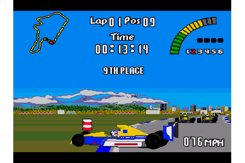 Nigel Mansell's World Championship Download Game ...