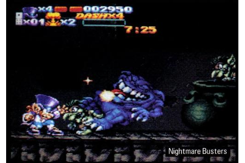 Nightmare Busters [SNES - Unreleased] - Unseen64