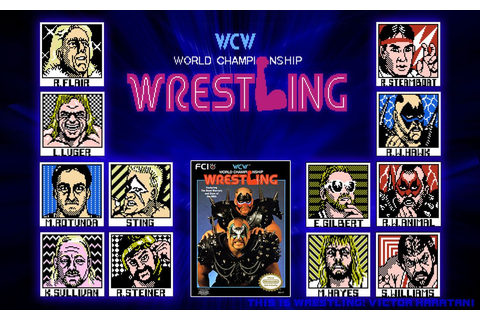wcw wrestlers | NES -WCW Wrestling by ~lord-shaitan on ...