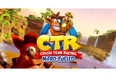 The Crash Team Racing Remaster Is Real, And It's Gorgeous
