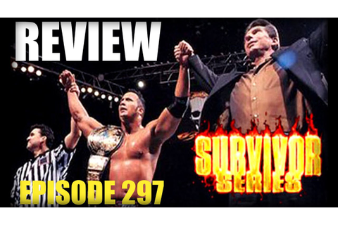WWE Survivor Series 1998 'Deadly Game' REVIEW - YouTube