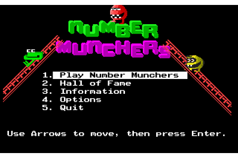 Download Number Munchers - My Abandonware