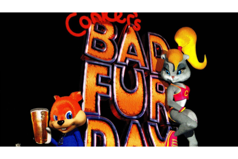 CGR Undertow - CONKER'S BAD FUR DAY review for Nintendo 64 ...