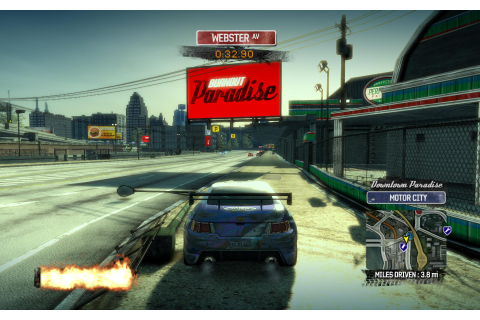 Burnout Paradise: Ultimate Box | bit-tech.net