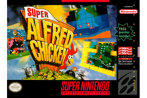 Super Alfred Chicken SNES Super Nintendo