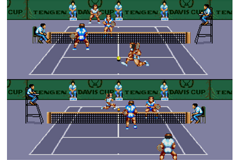 Review of Davis Cup World Tour Tennis for Sega Mega Drive