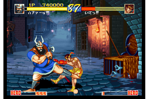 Turbo Review: World Heroes Perfect (Neo-Geo) - Turbo ...