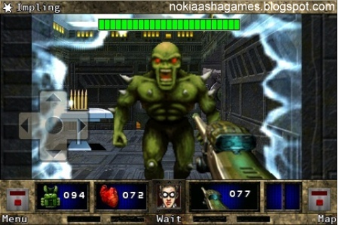 DOOM RPG 3D Landscape java Game Download for Java ...