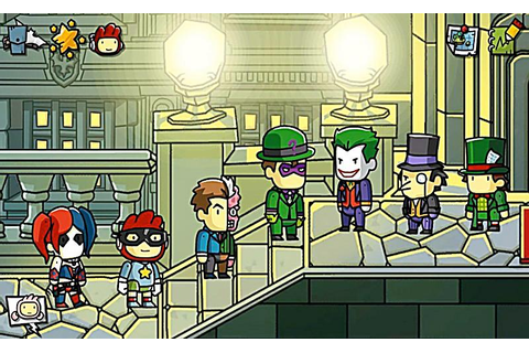 Scribblenauts Unmasked - A DC Comics Adventure Software ...