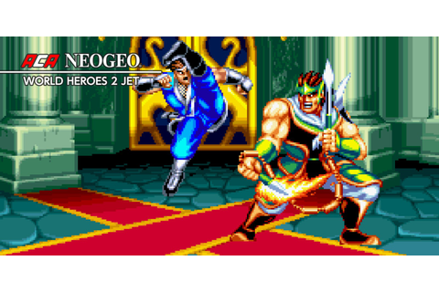 ACA NEOGEO WORLD HEROES 2 JET | Nintendo Switch download ...