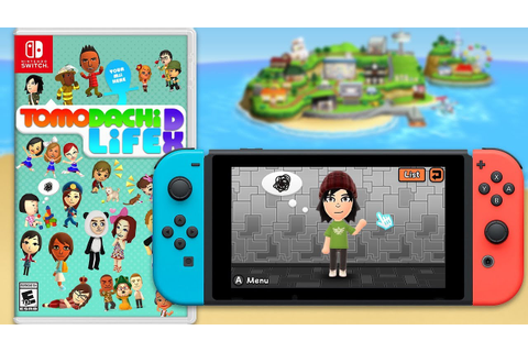 Tomodachi Life Switch | Realistic Ideas & Concepts - YouTube