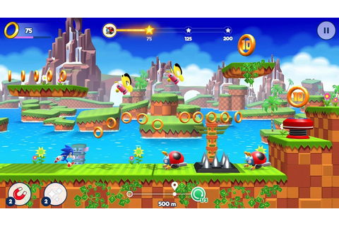 Gameloft brings back SEGA's Sonic Runners Adventure mobile ...