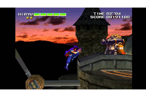2000 Strider 2 PSX Old School retro game playthrough - YouTube