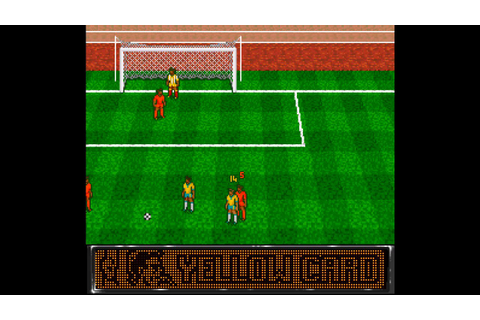 World Soccer 94: Road to Glory ... (SNES) 60fps - YouTube
