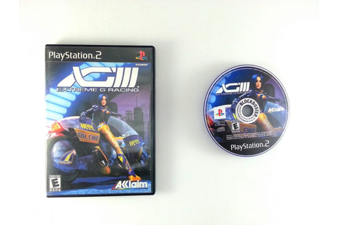 XG3 Extreme G 3 game for Playstation 2 | The Game Guy