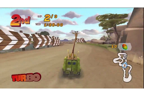 Madagascar Kartz (PS3) 150cc race: Watering Hole - YouTube