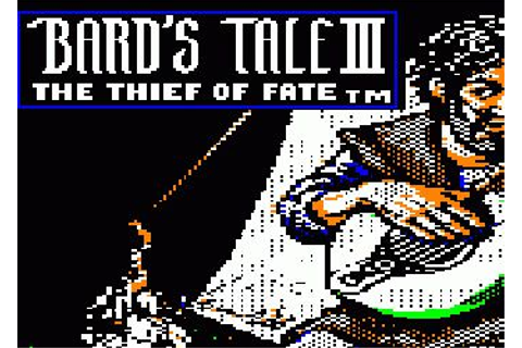 "Коды к игре The Bards Tale 3: Thief of Fate » ""Игромания ..."