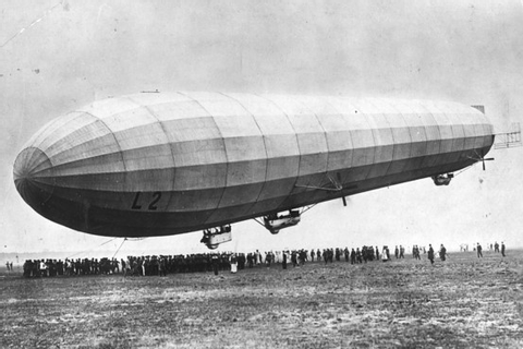 World War I Centenary: Zeppelins