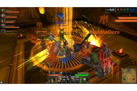 Warhammer Online Wrath of Heroes GamePlay - YouTube